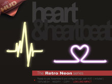 The Retro Neon - HEARTBEATS