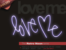 The Retro Neon - LOVE ME