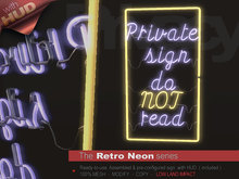 The Retro Neon - A PRIVACY NOTE