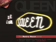 The Retro Neon - QUEEN