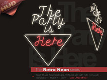 The Retro Neon - THE PARTY IS HERE