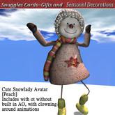 Cute Snowlady Avatar  [Peach] Boxed