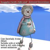 Cute Snowlady Avatar  [Mint]