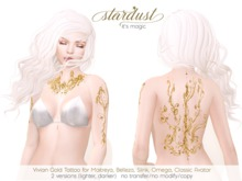 Stardust - Vivian - Gold Tattoo (WEAR ME)
