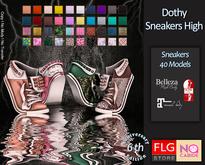 ::FLG No Cabide - Dothy Sneakers High - HUD 40 Models ::