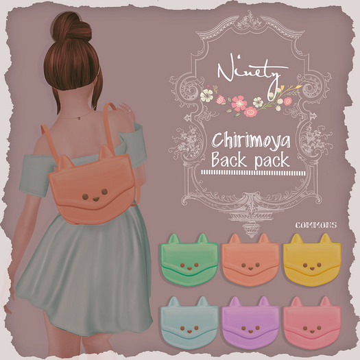 ninety - Chirimoya Backpacks Packs [ Gift ]
