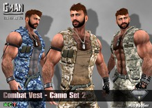 [GMan] V - Combat Vest - Camo Set 2 for Aesthetic