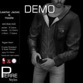 DEMO -PierreStyles :  Jacket with Hoodie mesh  multi