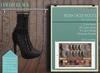 "Addams ""Rickia"" Womens Boots -Maitreya,Belleza,Slink- Mesh Boots Laced- Black"