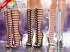 ::MA:: ALASTAIR Gladiator Heel Boots, Maitreya,Belleza,Slink - 50 COLOR PACK