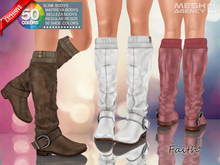 ::MA:: FAITH Boots with top socks - 50 COLOR PACK