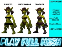 **Female Goblin Avatar**PlayFulMeshmp