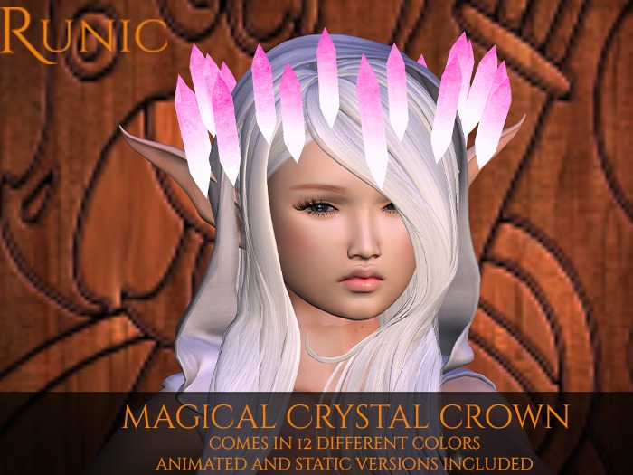 .: Runic :. Magical Crystal Crown (Fatpack)