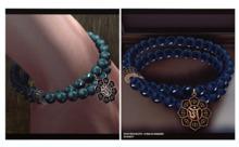 DYNASTY - Ohm Bracelet - Silver & Jade