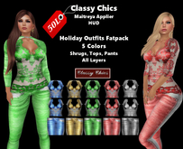 CC - Holiday Outfits - Maitreya Applier HUD Special, Promo, Promotion