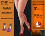 ..:: P.S Store ::.. Sandal Brandy + HUD 25 colors