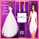 =Pink Lace Princess Gown= APPLIER/CLASSIC Set