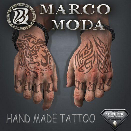 Hand Made Tattoo - Niramyth Aesthetic