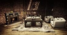 <Heart Homes> - Harvest - Living Room Set - FAMILY