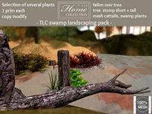 Swamp, landscaping