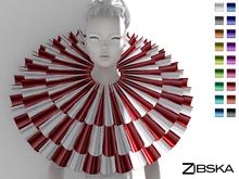 Zibska ~ Grethe Color Change Ruffle Collar