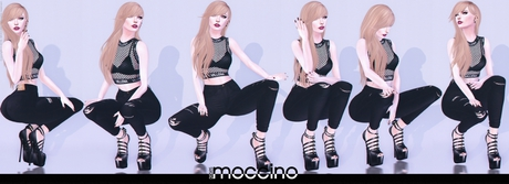 STUN - Pose Pack Collection 'Morgana' #22