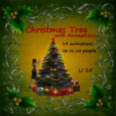 Gor-jus Christmas Tree with Animations - Red Star