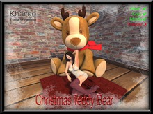 KHARGO CHRISTMAS TEDDY BEAR - MENU DRIVEN ANIMATION CHANGE