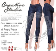 - CREATIVE STUDIO - Skinny Jeans v3 DEMO
