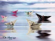 Box The Senses - Paper Boats