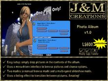 J&M Creations Photo Album v1.0 Unlimited