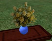 12 yellow roses id39fv