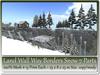 Land wall border snow 7 parts 15 prim each 25x8x25m copy mody