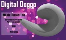 [Digital Doggo] Mesh Curled Tail (Personal)
