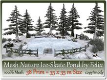 Mesh Nature Ice-Skate Pond(2) 38 Prim 35x35m Size copy-mody