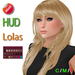 "eDeLsToRe woman mesh hair "" Opra "" Inch 24 color HUD Lola version + mode version"