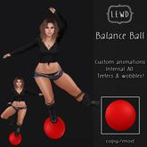 : Lewd :  Balance Ball