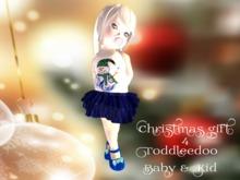 *MF* Christmas Toddleedoo Gift