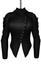 DE Designs - Dana Jacket - Maitreya Lara, Slink Physique-Hourglass - Mesh - Black Leather