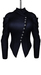 DE Designs - Dana Jacket - Maitreya Lara, Slink Physique-Hourglass - Mesh - Blue Leather
