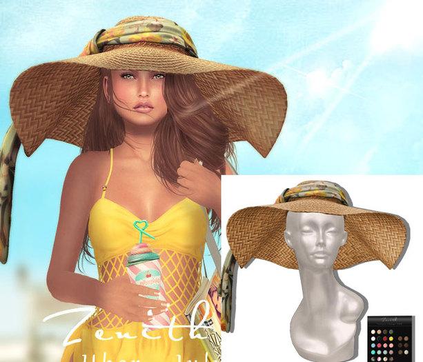 =Zenith=Rattan Sun Hat (All Colors)
