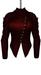 DE Designs - Dana Jacket - Maitreya Lara, Slink Physique-Hourglass - Mesh - Red Leather