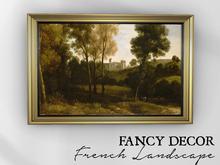 Fancy Decor: French Landscape