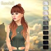 /Wasabi Pills/ Kendall Mesh Hair - B&W