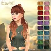 /Wasabi Pills/ Kendall Mesh Hair - Fireworks