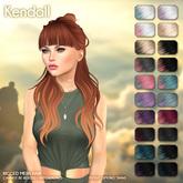 /Wasabi Pills/ Kendall Mesh Hair - Lunar Ombre