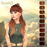 /Wasabi Pills/ Kendall Mesh Hair - Reds