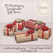 {what next} 10 Christmassy Gift Boxes - TRANSFERABLE