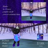Dinkie Ice Princess complete outfit with animated skates (box)