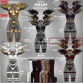 Grixdale - Fallen - Wings - Crimson Silver [box]